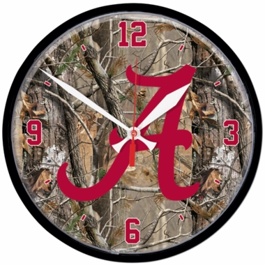 Alabama Wall Clock (Realtree)
