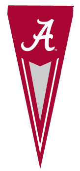 Alabama Yard Pennant
