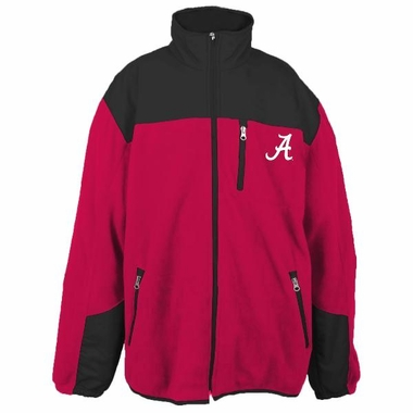 Alabama YOUTH Dobby Full Zip Polar Fleece Jacket
