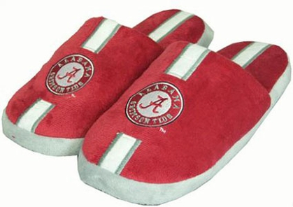 Alabama YOUTH Team Stripe Slide Slippers-Medium