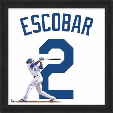 "Alcides Escobar, Royals UNIFRAME 20"" x 20"""