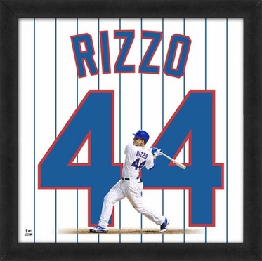 "Anthony Rizzo, Cubs Uniframe 20"" x 20"""