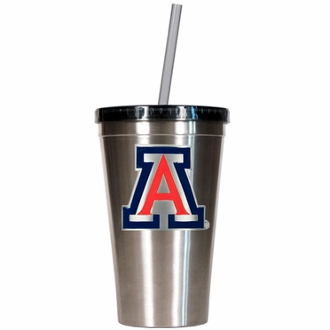 Arizona 16oz Stainless Steel Insulated Tumbler with Straw