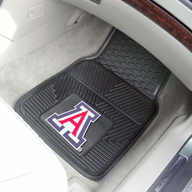 Arizona 2 Piece Heavy Duty Vinyl Car Mats