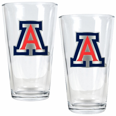 Arizona 2 Piece Pint Glass Set
