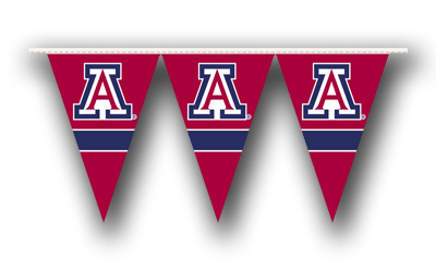 Arizona 25 Foot String of Party Pennants (P)