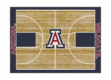 "Arizona 3'10"" x 5'4"" Premium Court Rug"