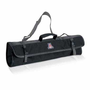 Arizona 3 Piece BBQ Tote (Black)