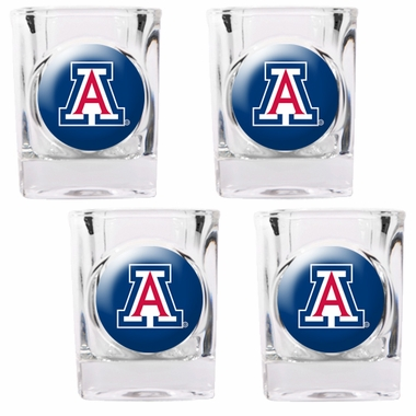 Arizona 4 Piece Shot Glass Set