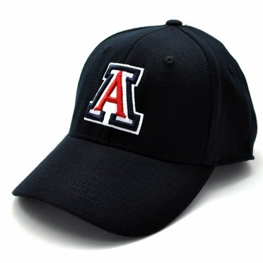 Arizona Black Premium FlexFit Baseball Hat
