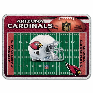 Arizona Cardinals 11 x 15 Glass Cutting Board