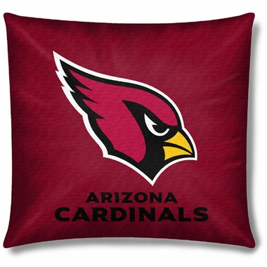 Arizona Cardinals 18 Inch Toss Pillow