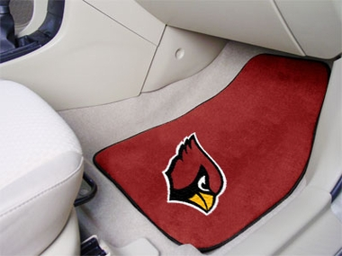 Arizona Cardinals 2 Piece Car Mats