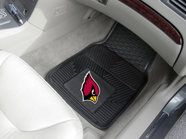 Arizona Cardinals 2 Piece Heavy Duty Vinyl Car Mats
