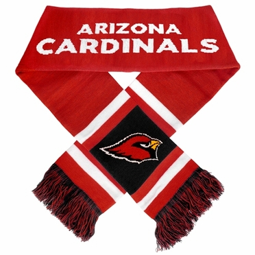 Arizona Cardinals 2012 Team Stripe Knit Scarf