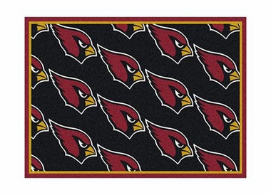 "Arizona Cardinals 3'10"" x 5'4"" Premium Pattern Rug"