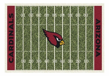 "Arizona Cardinals 5'4"" x 7'8"" Premium Field Rug"