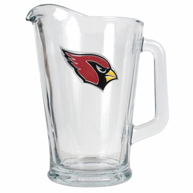 Arizona Cardinals 60 oz Glass Pitcher
