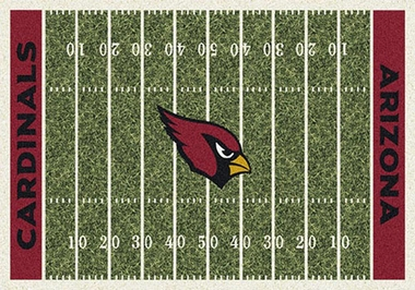 "Arizona Cardinals 7'8"" x 10'9"" Premium Field Rug"