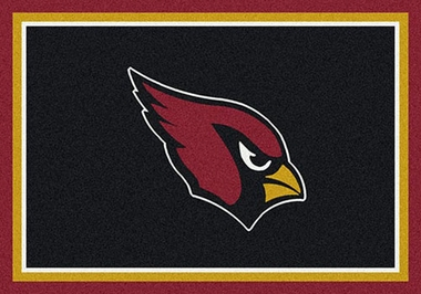 "Arizona Cardinals 7'8"" x 10'9"" Premium Spirit Rug"