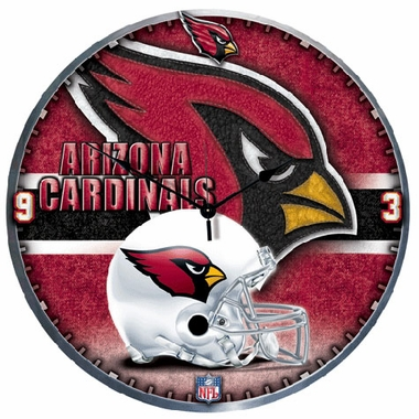 Arizona Cardinals Big 18 Inch Hi Definition Clock
