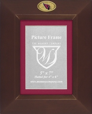 Arizona Cardinals BROWN Portrait Picture Frame