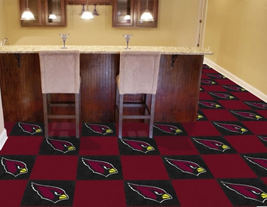 Arizona Cardinals Carpet Tiles