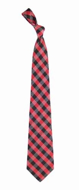 Arizona Cardinals Check Poly Necktie