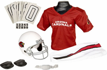 Arizona Cardinals Deluxe Youth Uniform Set
