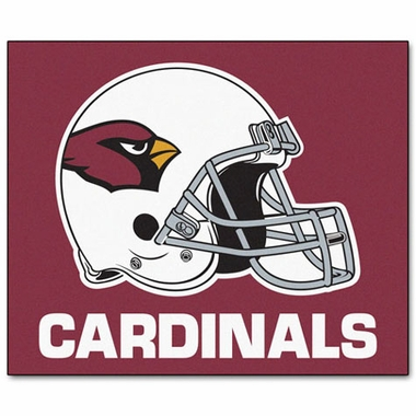 Arizona Cardinals Economy 5 Foot x 6 Foot Mat