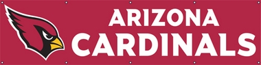 Arizona Cardinals Eight Foot Banner