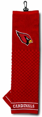 Arizona Cardinals Embroidered Golf Towel