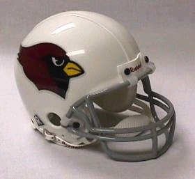 Arizona Cardinals Football Helmet - Mini Replica