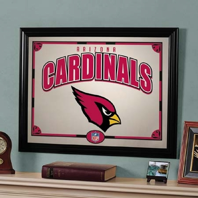 Arizona Cardinals Framed Mirror