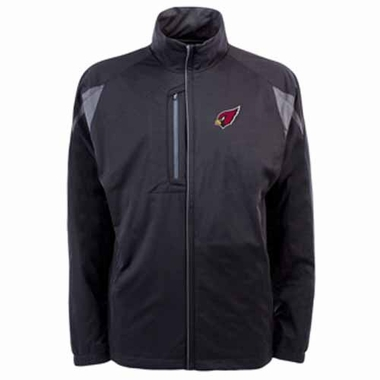 Arizona Cardinals Mens Highland Water Resistant Jacket (Team Color: Black)