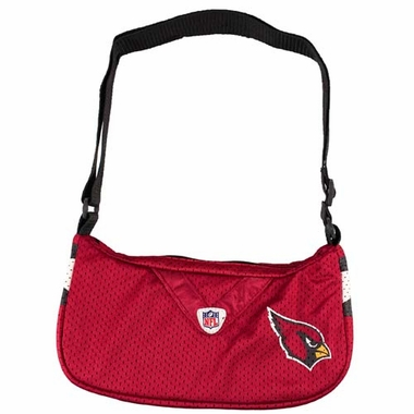 Arizona Cardinals Jersey Material Purse