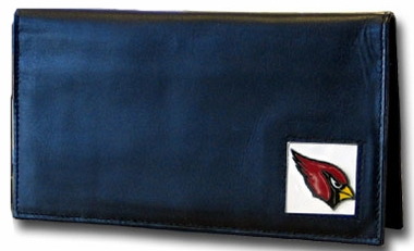 Arizona Cardinals Leather Checkbook Cover (F)