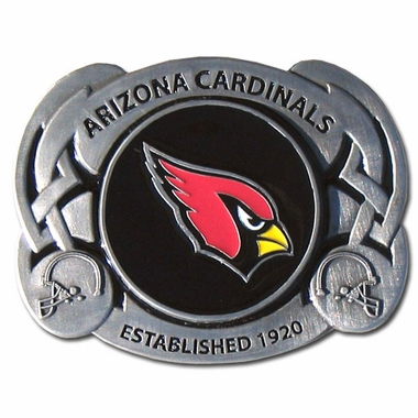 Arizona Cardinals Enameled Belt Buckle