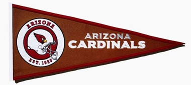 Arizona Cardinals Pigskin Pennant