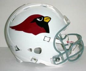 Arizona Cardinals Riddell Full Size Authentic Revolution Helmet