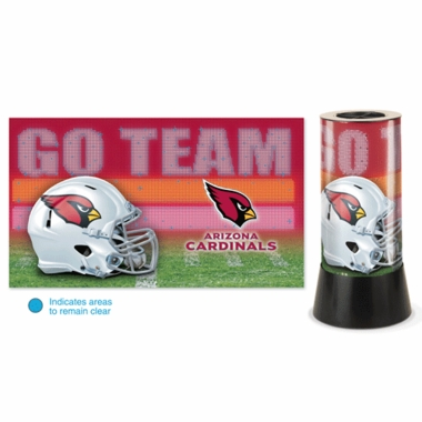 Arizona Cardinals Rotating Lamp