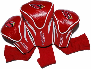 Arizona Cardinals Set of Three Contour Headcovers