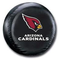 Arizona Cardinals Spare Tire Cover (Small Size)