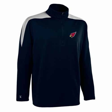 Arizona Cardinals Mens Succeed 1/4 Zip Performance Pullover (Color: Smoke)