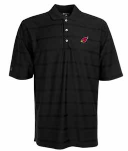 Arizona Cardinals Mens Tonal Polo (Team Color: Black) - XXX-Large