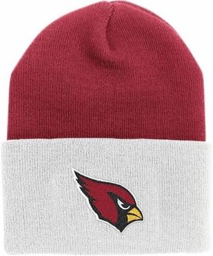 Arizona Cardinals (Two-Tone) Logo Knit Ski Cap