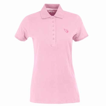 Arizona Cardinals Womens Spark Polo (Color: Pink)