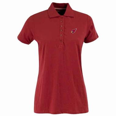 Arizona Cardinals Womens Spark Polo (Team Color: Red)