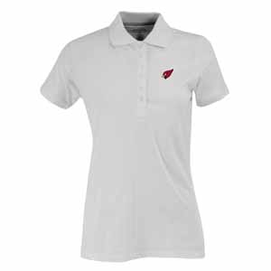 Arizona Cardinals Womens Spark Polo (Color: White) - Small