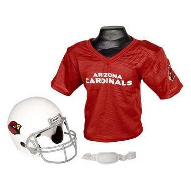 Arizona Cardinals Youth Helmet and Jersey Set